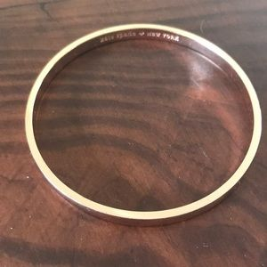 Kate Spade stop and smell the roses bangle